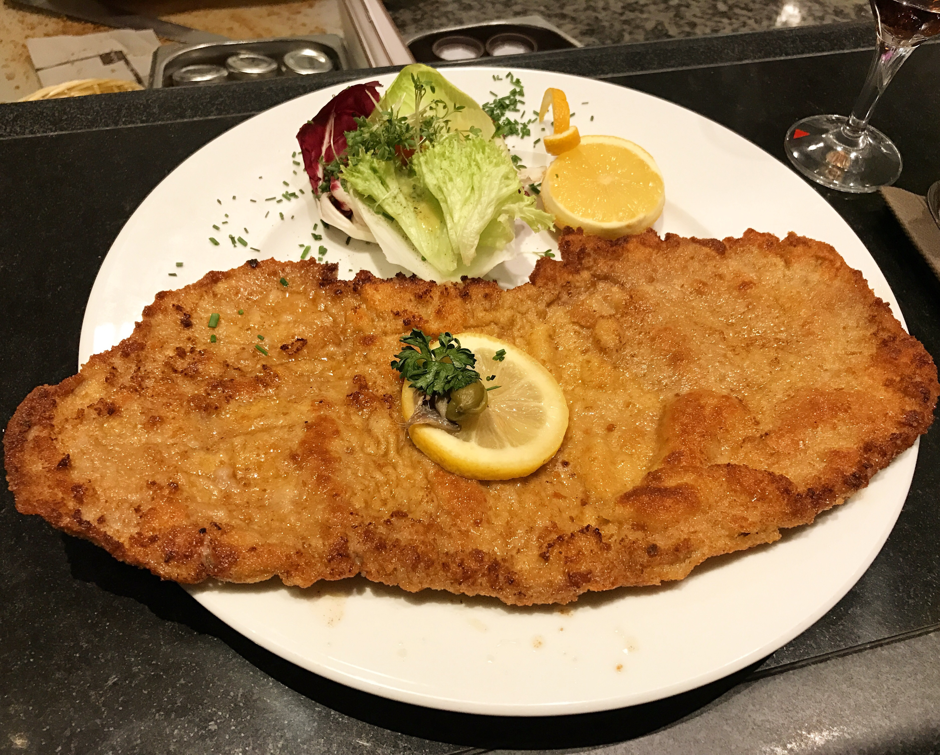 Image result for berlin Wiener Schnitzel at KaDeWe""